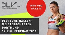Deutsche Hallenmeisterschaften 2018 Dortmund